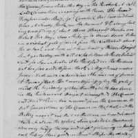Samuel Culper to Benjamin Tallmadge, November 23, 1778